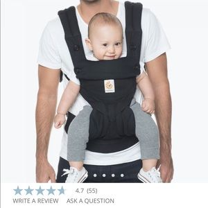 Ergobaby 360 all positions carrier w infant insert